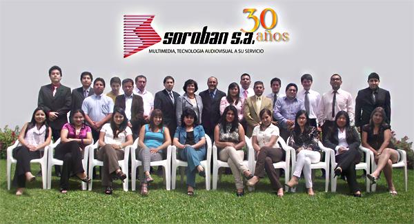 ANIVERSARIO POR LOS 30 AÑOS DE SOROBAN