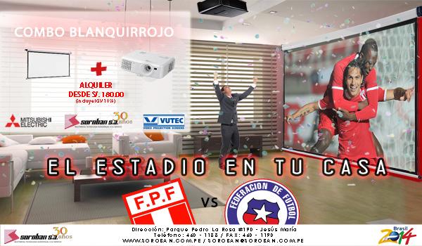 COMBO MUNDIAL – PERÚ V.S CHILE