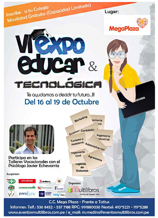 VI EXPO EDUCAR & TECNOLÓGICA