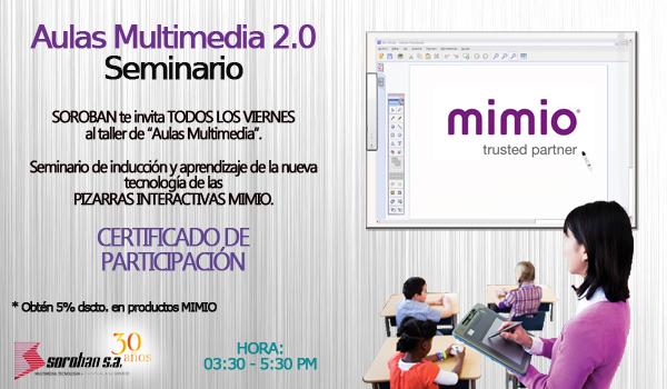 SEMINARIO DE AULAS MULTIMEDIA 2.0